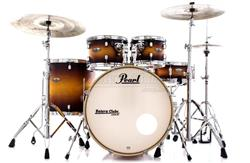 "Bateria Pearl Decade Maple Classic Satin Amburst 20"",10"",12"",14"" com Kit de Ferragens 830"