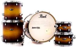 "Bateria Pearl Decade Maple Classic Satin Amburst 22"",10"",12"",14"",16"" com Caixa 14x5,5"" (Shell Pack)"