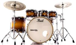 "Bateria Pearl Decade Maple Classic Satin Amburst 22"",8"",10"",12"",16"" com Kit de Ferragens 830"