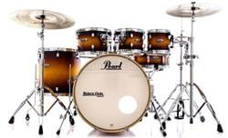 "Bateria Pearl Decade Maple Classic Satin Amburst 20"",8"",10"",12"",14"" com Kit de Ferragens 830"