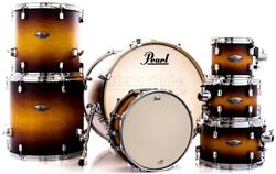 "Bateria Pearl Decade Maple Classic Satin Amburst 22"",8"",10"",12"",14"",16"" Caixa 14x5,5"" (Shell Pack)"