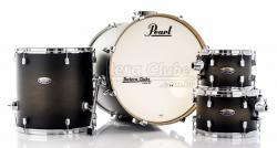 "Bateria Pearl Decade Maple Satin Black Burst 20"",10"",12"",14"" com Caixa (Shell Pack)"