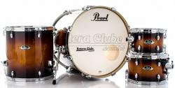 "Bateria Pearl Export EXL Lacquer Gloss Tobbaco Burst 20"",10"",12"",14"" (Shell Pack)"