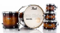 """Bateria Pearl Export EXL Lacquer Gloss Tobbaco Burst 20"""",8"""",10"""",12"""",14"""" (Shell Pack)"""