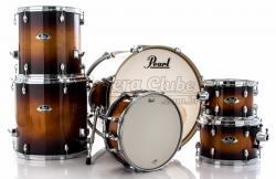 """Bateria Pearl Export EXL Lacquer Gloss Tobbaco Burst 22"""",10"""",12"""",14"""",16"""" (Shell Pack)"""