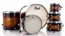 """Bateria Pearl Export EXL Lacquer Gloss Tobbaco Burst 22"""",8"""",10"""",12"""",16"""" (Shell Pack)"""