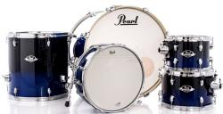 "Bateria Pearl Export EXL Lacquer Sea Blue Fade 22"",10"",12"",16"" (Shell Pack)"