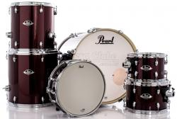 "Bateria Pearl Export EXX Series Mahogany Burgundy 22"",10"",12"",14"",16"" (Shell Pack)"