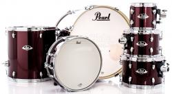 "Bateria Pearl Export EXX Series Mahogany Burgundy 22"",8"",10"",12"",16"" (Shell Pack)"