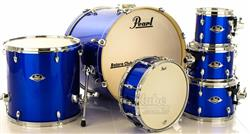 "Bateria Pearl Export EXX Series Mahogany High Voltage Blue 22"",8"",10"",12"",16"" (Shell Pack)"