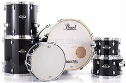 "Bateria Pearl Export EXX Series Mahogany Jet Black 22"",10"",12"",14"",16"" (Shell Pack)"