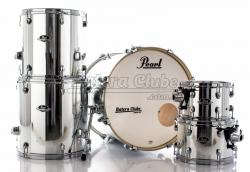 "Bateria Pearl Export EXX Series Mahogany Mirror Chrome 20"",10"",12"",14"",16"" (Shell Pack)"