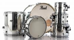 "Bateria Pearl Export EXX Series Mahogany Mirror Chrome 22"",8"",10"",12"",16"" (Shell Pack)"