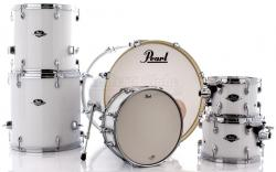 "Bateria Pearl Export EXX Series Mahogany Pure White 22"",10"",12"",14"",16"" (Shell Pack)"