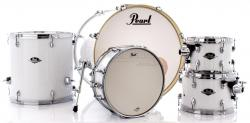 "Bateria Pearl Export EXX Series Mahogany Pure White 22"",10"",12"",16"" (Shell Pack)"