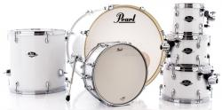 "Bateria Pearl Export EXX Series Mahogany Pure White 22"",8"",10"",12"",16"" (Shell Pack)"