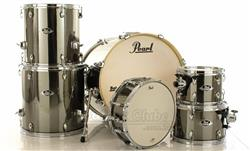 "Bateria Pearl Export EXX Series Mahogany Smokey Chrome 20"",10"",12"",14"",16"" (Shell Pack)"