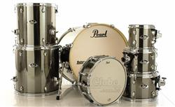"Bateria Pearl Export EXX Series Mahogany Smokey Chrome 20"",8"",10"",12"",14"",16"" (Shell Pack)"