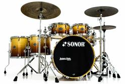 "Bateria Sonor Select Force Maple S Drive Autumn Fade 22"",10"",12"",14"",16"" Caixa 14x6,5"" (Shell Pack)"