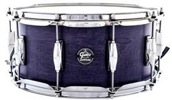 "Caixa Gretsch Marquee Maple Series Satin Indigo 14x6,5"" Casco Top e Aros PowerHoop 2.3mm"