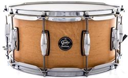 "Caixa Gretsch Marquee Maple Series Satin Natural 14x6,5"" Casco Top e Aros PowerHoop 2.3mm"