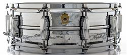 "Caixa Ludwig Supraphonic LM400K Hammared 14x5"" Funk Legend Made in USA com Casco Martelado"