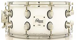 "Caixa Nell Felicce Series Hybrid Birch Solid White 14x7"" com Aros Power-Hoop 2.3mm"