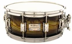 "Caixa Odery Eyedentity Tiger Black Burst Birch 14x6"" com Aros PowerHoop 2.3mm"