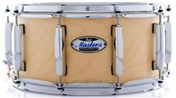"""Caixa Pearl Masters Maple Complete Satin Natural 14x6,5"""" Thin Shell EvenPly-Six"""