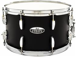 "Caixa Pearl Modern Utility Maple Satin Black 14x8"" Casco Fino Top com 5mm de Espessura"