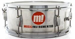 """Caixa PHX Music Instrumentos Alumínio 555-LS 14x5,5"""""""