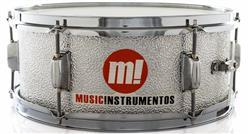 "Caixa PHX Music Instrumentos Alumínio Texturizado 555-TX 14x5,5"""