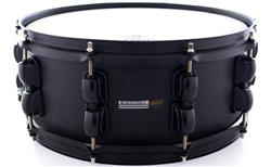 "Caixa RMV Cross Road Fiber Black Carbon 14x5,5"" com Aros Inoxidáveis 1,7mm"
