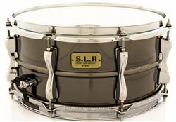 "Caixa Tama S.L.P. Sound Lab Project Sonic Steel 13x6,5"" Black Nickel Shell Power Piccolo LST1365"