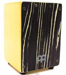 Cajón Mini Meinl Exotic Striped Onyx Birch Super Compacto com 22cm de Altura (Crianças ou Adultos)