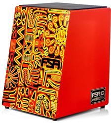 Cajón FSA Latin Series Limited Edition FLE10 Inclinado Acústico com Assento em E.V.A.