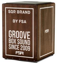 Cajón FSA Square Series Tabaco FLC8585 com Dupla Captação Ativa e Assento em E.V.A.