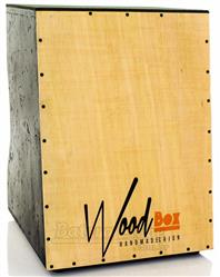 Cajón Wood Box Droop EL Elétrico Inclinado com Duto Compressor e Captação XLR