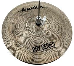 "Chimbal Anatolian Dry Series Regular Hi-hat 14"" Dark Slot Handmade Turkish"