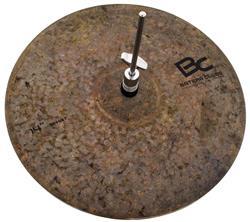 """Chimbal Batera Clube Signature Dry Dark BFC 14"""" B20 By Domene Thin, Seco e Macio"""
