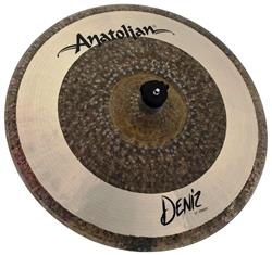"Crash Anatolian Deniz 17"" Raw Natural Hybrid Handmade Turkish"