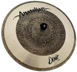 "Crash Anatolian Deniz 19"" Raw Natural Hybrid Handmade Turkish"