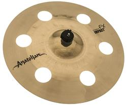 "Crash Anatolian Diamond Hybrid FX Impact 16"" Handmade Turkish (Estilo O-Zone e EFX)"