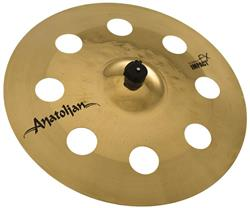 "Crash Anatolian Diamond Hybrid FX Impact 18"" Handmade Turkish (Estilo O-Zone e EFX)"