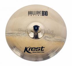 """Crash Krest Brilliant B10 Medium 17"""" em Bronze B10 BT17MC"""