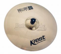 """Crash Krest Brilliant B10 Medium 18"""" em Bronze B10 BT18MC"""