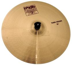 "Crash Paiste 2002 Thin Crash 18"" (Acervo) com Capa Protetora US$ 279"