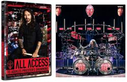 DVD Triplo All Access To Aquiles Priesters Drumming com 3 DVDs e Mais de 4 Horas de Conteúdo