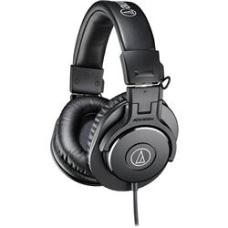 Fone de Ouvido Audio-Technica Headphone M-Series ATH-M30X Impedância 47 Ohms e Fechamento Lateral
