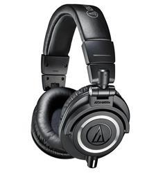 Fone de Ouvido Audio-Technica Headphone M-Series ATH-M50X 38 Ohms, 3 Cabos e Haste Giratória
